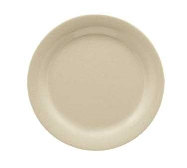 "G.E.T. Enterprises BF-060-S Tahoe Sandstone Round Melamine Plate 6-1/4"""