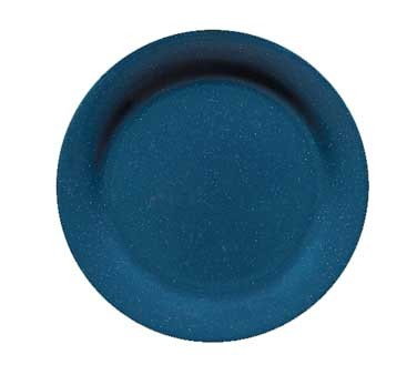 "G.E.T. Enterprises BF-700-TB Texas Blue Round Melamine Plate 7-1/4"""