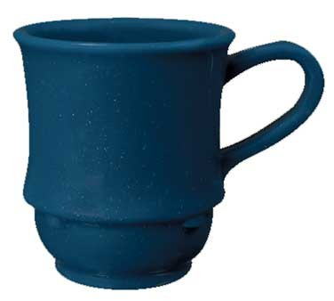 GET Centennial Texas Blue SAN Plastic 8 Oz. Stacking Mug
