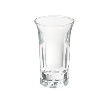 G.E.T. Enterprises SW-1431-1-CL Clear Plastic 1 oz. Shooter Glass