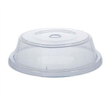 "G.E.T. Enterprises CO-91-CL Clear Reusable Plate Cover for 8.63"" to 9-1/4"" Plate"