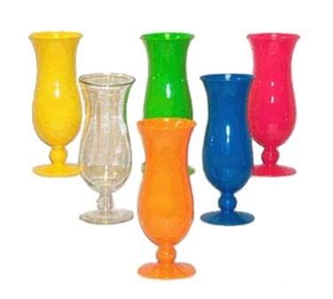 G.E.T. Enterprises HUR-20-CL Clear Polycarbonate 20 oz. Hurricane Glass