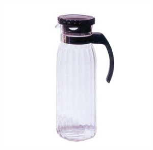 G.E.T. Enterprises P-4050-PC-CL Polycarbonate 50 oz. Beverage Pitcher with Lid