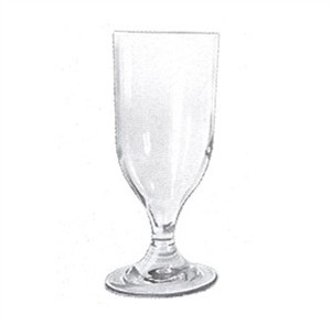 G.E.T. Enterprises SW-1414-1-CL Clear SAN Plastic 12 oz. Goblet