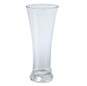 GET Clear SAN Plastic 12 Oz. Pilsner Glass