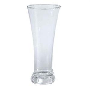 G.E.T. Enterprises P-12-1-CL Clear SAN Plastic 12 oz. Pilsner Glass