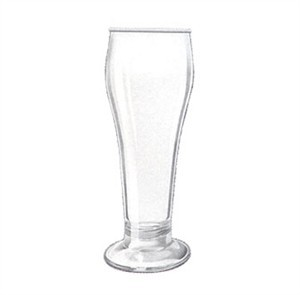 G.E.T. Enterprises SW-1417-1-SAN-CL Clear SAN Plastic 22 oz. Pilsner Glass