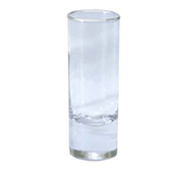 G.E.T. Enterprises SW-1408-1-CL Clear SAN Plastic 3 oz. Shooter Glass