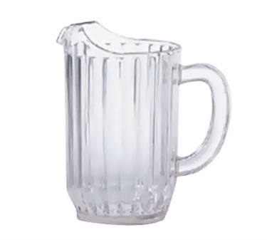 G.E.T. Enterprises P-3032-1-CL Clear SAN Plastic 32 oz. Water Pitcher