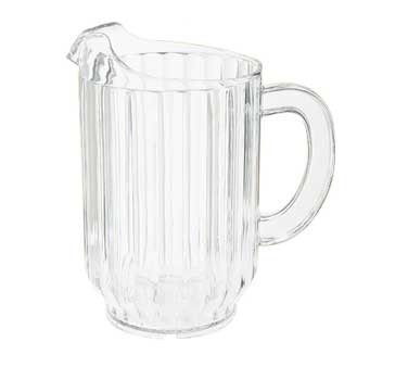 G.E.T. Enterprises P-2064-1-CL Clear SAN Plastic 60 oz. Beer Pitcher