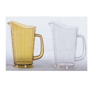 G.E.T. Enterprises P-1064-1-CL Clear SAN Plastic 60 oz. Tall Beer Pitcher