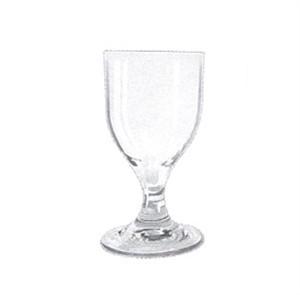 GET Clear SAN Plastic 8 Oz. Goblet