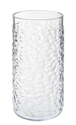 GET Clear Textured 16 Oz. Drinkware Tumblers