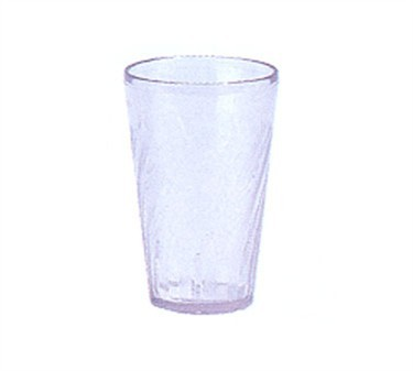 G.E.T. Enterprises 2206-1-CL Clear Plastic 6 oz. Tahiti Juice Tumbler