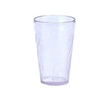 G.E.T. Enterprises 2206-1-CL Clear Plastic 6 oz. Tahiti Juice Tumbler