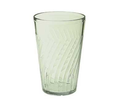 G.E.T. Enterprises 2216-1-JA Jade Plastic 16 oz. Tahiti Beverage Tumbler