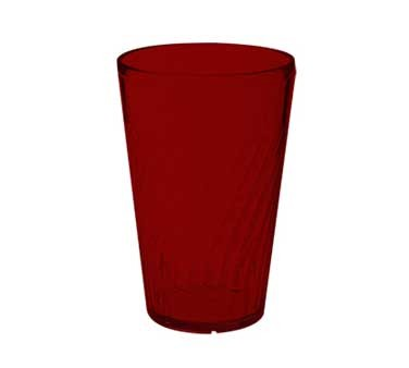 GET Commercial Grade Red Plastic 12 Oz. Tahiti Beverage Drinkware