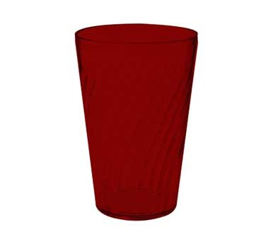 GET Commercial Grade Red Plastic 24 Oz. Tahiti Beverage Drinkware