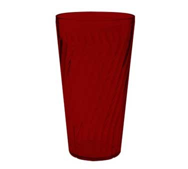 GET Commercial Grade Red Plastic 32 Oz. Tahiti Beverage Drinkware