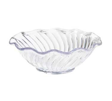G.E.T. Enterprises DD-70-CL Dessert Time Clear 12 oz. Plastic Dessert Bowl