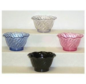 G.E.T. Enterprises DD-50-PI Dessert Time Pink 5 oz. Plastic Dessert Bowl