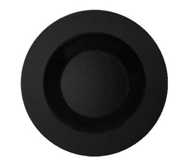 G.E.T. Enterprises B-1611-BK Black Elegance Chexers 16 oz. Melamine Bowl