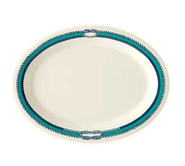 GET Diamond Mardi Gras Freeport Oval Platter - 14-3/4
