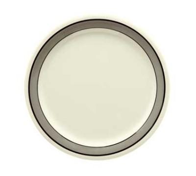 """G.E.T. Enterprises NP-10-CA Diamond Cambridge Narrow Rim Plate 10-1/2"""""""