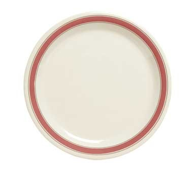 GET Diamond Mardi Gras Oxford Narrow Rim Plate - 10-1/2