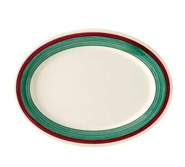 GET Diamond Mardi Gras Portofino Melamine Oval Platter - 12