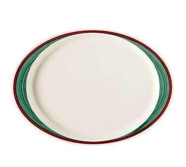 GET Diamond Mardi Gras Portofino Oval Platter - 14-3/4
