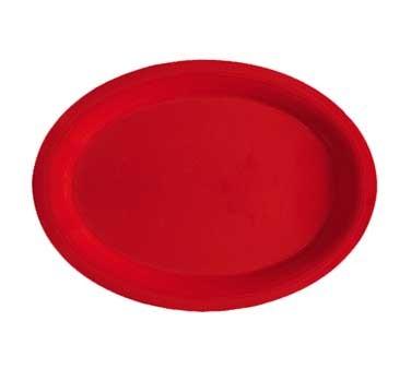 "G.E.T. Enterprises OP-135-RSP Red Sensation Oval Platter, 13-1/2"" x 10-1/4"""