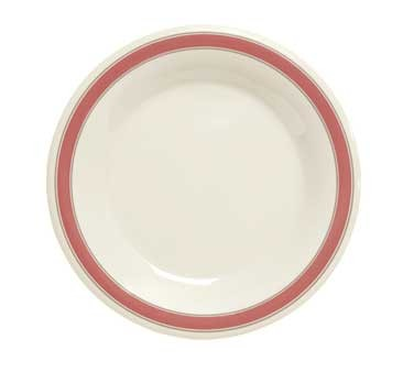 GET Diamond Oxford Melamine Wide Rim Plate - 10-1/2