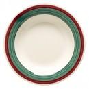 G.E.T. Enterprises B-139-PO Diamond Portofino 13 oz. Melamine Pasta/Salad Bowl