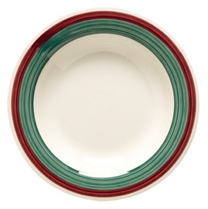 GET Diamond Portofino 13 Oz. Melamine Pasta/Soup Bowl - 9-1/4