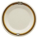 G.E.T. Enterprises WP-10-RD Diamond Rodeo Melamine Wide Rim Plate 10-1/2""