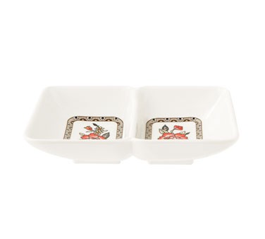 GET Dynasty Garden 2-Compartment Sauce Dish - 4