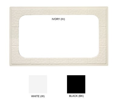 GET Full-Size Ivory Tile With 1-Cut Out For ML-176 - 21-1/2