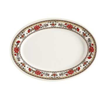 GET Garden Melamine Oval Platter - 12-1/4