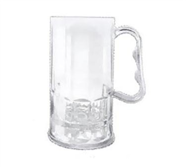 G.E.T. Enterprises 00082-1-SAN-CL SAN Plastic 10 oz. Beer Mug