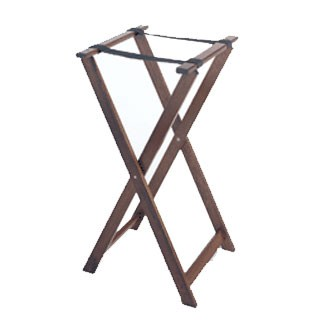 GET Hardwood High Tray Stand - 31-1/2