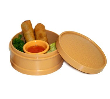 GET Hidden Treasures Honey Melamine Steamer Set - 4-1/2