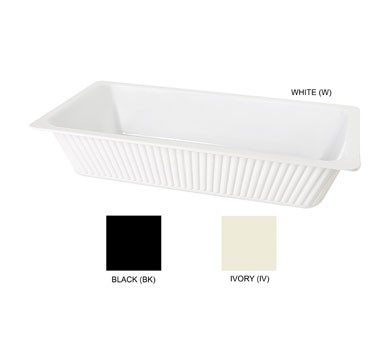 GET Ivory Melamine 8 Quart Casserole Dish - 18