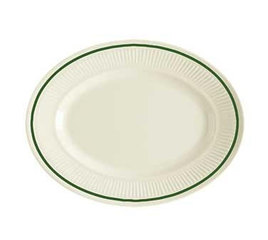 GET Kingston Melamine Oval Platter - 9-1/4
