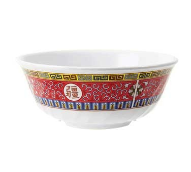 GET Longevity 48 Oz. Melamine Fluted Bowl - 7-3/4