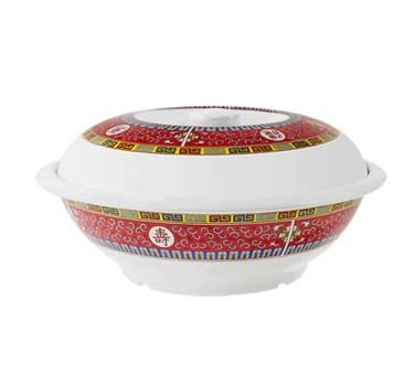 GET Longevity 70 Oz. Melamine Party Bowl With Lid - 10