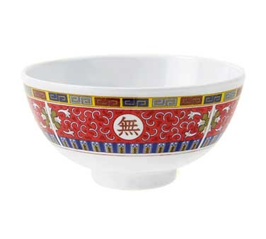 G.E.T. Enterprises M-768-L Longevity 9 oz. Melamine Rice Bowl