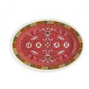 "G.E.T. Enterprises M-4010-L Longevity Melamine Oval Platter, 16-1/4"" x 12"""
