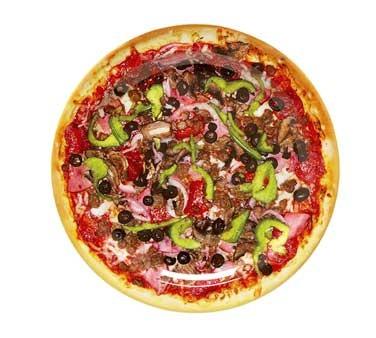 """G.E.T. Enterprises DP-909-PZ Creative Table Round Pizza Plate 9"""""""