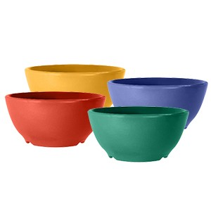GET Mardi Gras Celebration 16 Oz. Chili/Soup Bowl - 5-1/4